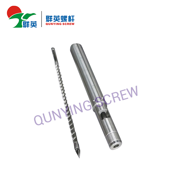 Single Injection Screw Barrel For Moulding Machines