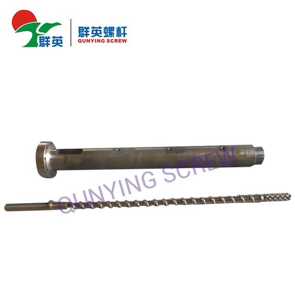 Single Extruder Screw And Barrel For Plastic Machine