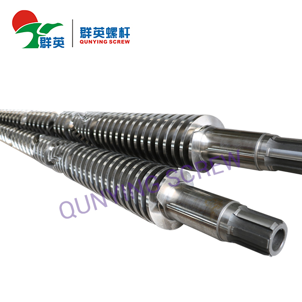 38 CrMoALA Nitriding Conical Twin Double Screw And Barrels-Twin Conical Screws And Cylinder For PP PVC ABS