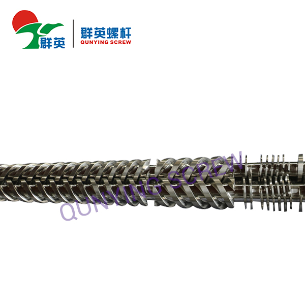 Conical Twin Screws Extruder Machine Barrel And Screw For PVC Plastic